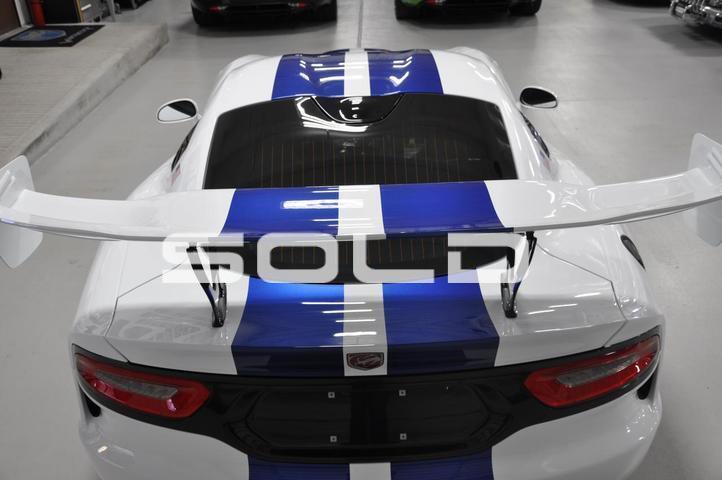 2017 Dodge Viper GTC GTSR # 37 Tomball TX