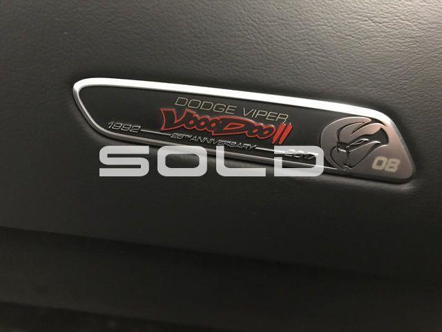 2017 Dodge Viper GTC Voodoo # 13 Tomball TX