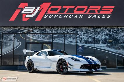 2017 Dodge Viper GTS-R Final Edition Tomball TX