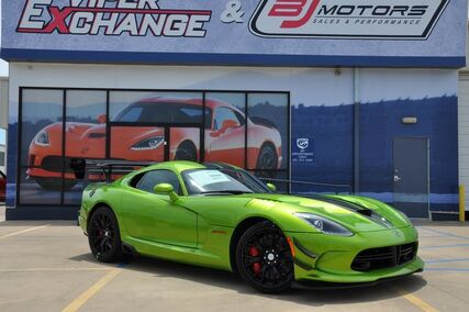 2017 Dodge Viper SSG #25 Special Edition GTC Tomball TX