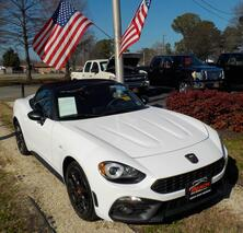 FIAT 124 SPIDER ABARTH CONVERTIBLE, WHOLESALE PRICE BELOW NADA TRADE, NAVIGATION, HEATED LEATHER, 1 LOCAL OWNER! 2017