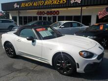 2017_FIAT_124 SPIDER_ABARTH CONVERTIBLE,CERTIFIED W/ WARRANTY, NAVIGATION, HEATED LEATHER, BACKUP CAM, 1 LOCAL OWNER,NEW!_ Norfolk VA