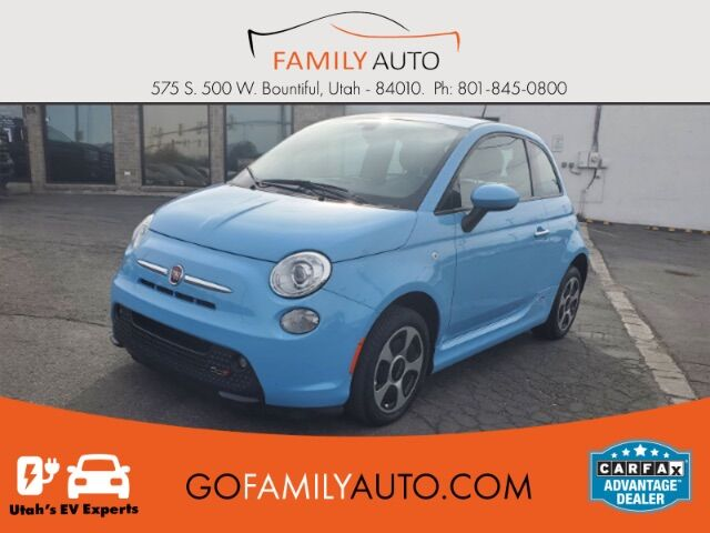 2017 Fiat 500e Battery Electric Hatchback Bountiful UT