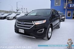 2017_Ford_Edge_SEL / AWD / 3.5L V6 / Power & Heated Leather Seats / Microsoft Sync Bluetooth / Back Up Camera / Rear Park Assist Sensors / Keyless Entry & Start / Aluminum Wheels_ Anchorage AK