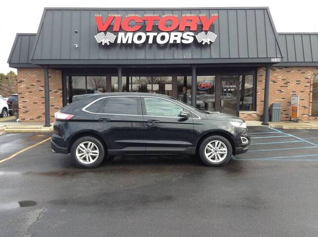 2017 Ford Edge SEL AWD 4dr Crossover Chesterfield MI