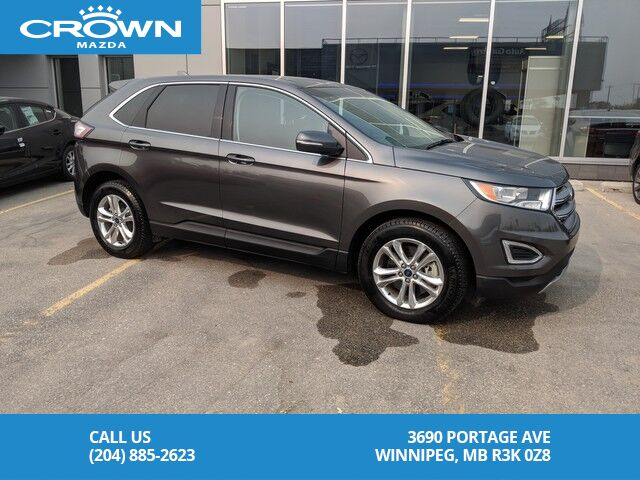 Ford Edge Sel Awd With Leather And Navigationno Accidents One Owner Winnipeg Mb