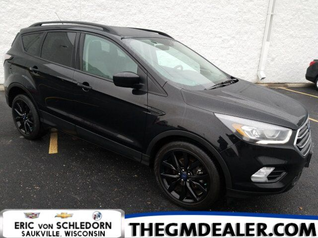 2017 Ford Escape SE FWD 1.5L EcoBoost SportAppearance TechnologyPkgs w/Leather 19s SYNC RearCamera Milwaukee WI