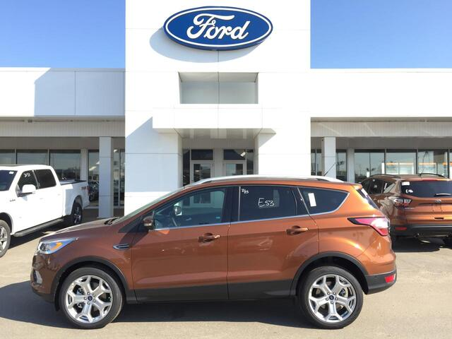 2017_Ford_Escape_Titanium 4WD w/ Adaptive Cruise_ Edmonton AB