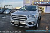 2017 Ford Escape Titanium / AWD / Ecoboost / Auto Start / Heated Leather Seats / Panoramic Sunroof / Navigation / Blind Spot Alert / Bluetooth / Back Up Camera / Only 18K Miles / 27 MPG / 1-Owner