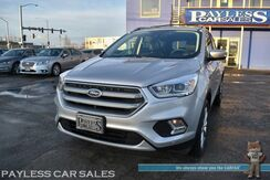 2017_Ford_Escape_Titanium / AWD / Ecoboost / Auto Start / Heated Leather Seats / Panoramic Sunroof / Navigation / Blind Spot Alert / Bluetooth / Back Up Camera / Only 18K Miles / 27 MPG / 1-Owner_ Anchorage AK