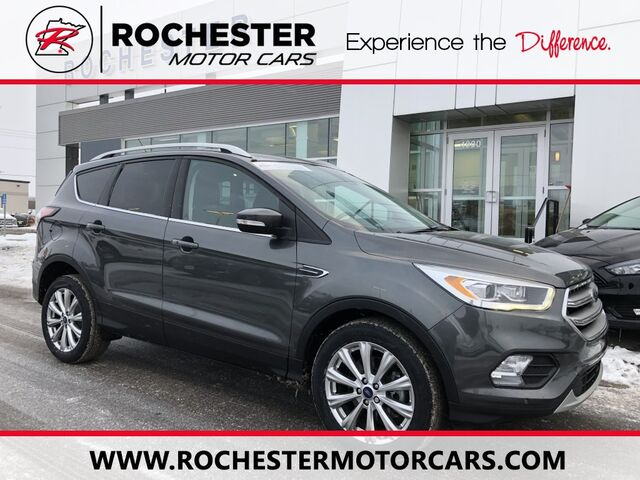 2017 Ford Escape Anium W Heated Steering Wheel Remote Start Rochester Mn