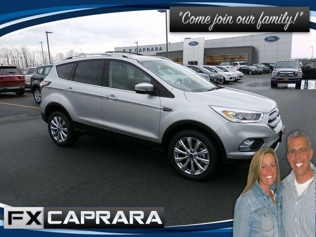 2017 Ford Escape Titanium Watertown NY