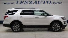 Ford Explorer 4WD Platinum: 3.5L-NAV-MOON-BENCH-THIRD-REVERSE CAMERA-MASSAGE-SONY-LEATHER-CD PLAYER-4WD-1 OWNER 2017