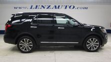 Ford Explorer 4WD Platinum: 3.5L-NAV-MOON-BENCH-THIRD-REVERSE CAMERA-SONY-MASSAGE-LEATHER-CD PLAYER-4WD-1 OWNER 2017