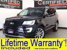 Ford Explorer LIMITED NAVIGATION SUNROOF LEATHER HEATED/COOLED SEATS REAR CAMERA 2017