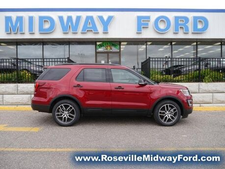 2017_Ford_Explorer_Sport_ Roseville MN