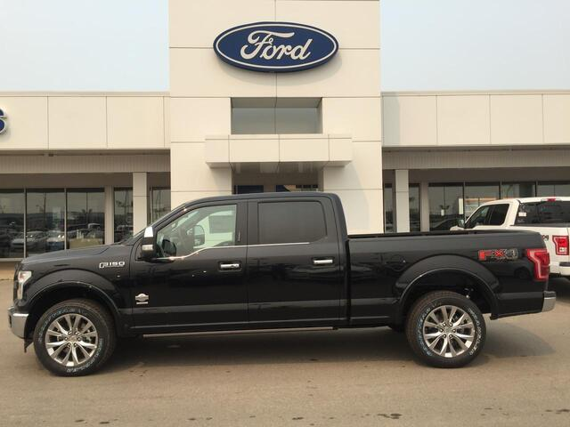 2017_Ford_F-150_4X4 KING RANCH MESA LEATHER HEATED/COOLED BUCKET SEATS_ Edmonton AB