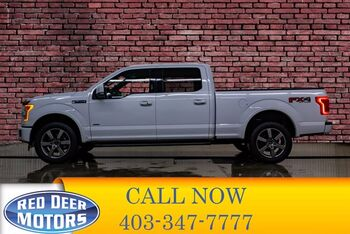 2017_Ford_F-150_4x4 Super Crew Lariat FX4 Longbox_ Red Deer AB