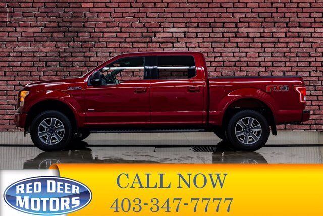 2017 Ford F-150 4x4 Super Crew XLT FX4 Nav BCam Red Deer AB