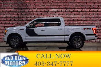 2017_Ford_F-150_4x4 Super Crew XLT FX4 Nav Roof_ Red Deer AB