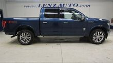 2017_Ford_F-150_4x4 SuperCrew King Ranch: 3.5L ECOBOOST-FX4-SHORT-NAV-MOON-REVERSE CAMERA-MASSAGE-SONY-LEATHER-4X4_ Fond du Lac WI
