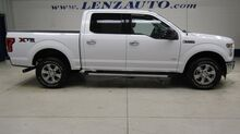 2017_Ford_F-150_4x4 SuperCrew XLT: 3.5L-XTR-FX4-SHORT-REVERSE CAMERA-PRO TRAILER-CLOTH-CD PLAYER-4X4-1 OWNER_ Fond du Lac WI