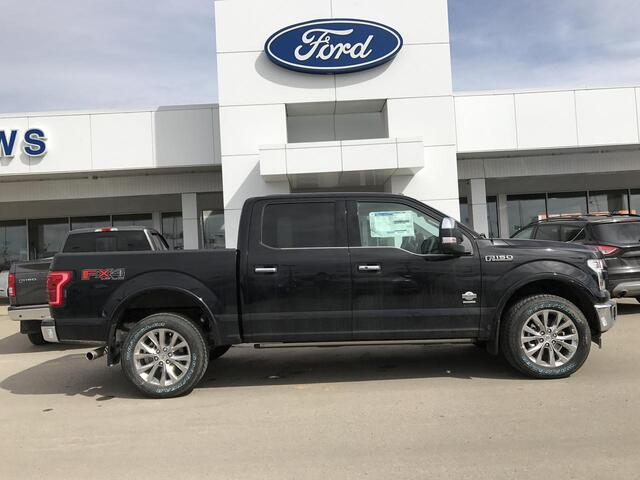 2017_Ford_F-150_KING RANCH MESA LEATHER HEATED/COOLED BUCKET SEATS_ Edmonton AB
