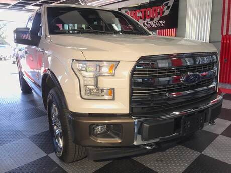 2017 Ford F-150 King Ranch 4x4 4dr SuperCrew 5.5 ft. SB Chesterfield MI