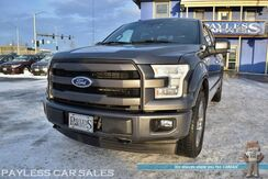 2017_Ford_F-150_Lariat / FX4 Pkg / Sport Appearance Pkg / Crew Cab / Heated & Cooled Leather Seats / Heat Steering Wheel / Panoramic Sunroof / Sony Speakers / Navigation / Auto Start / Blind Spot Alert / Back Up Camera / Tow Pkg / 1-Owner_ Anchorage AK