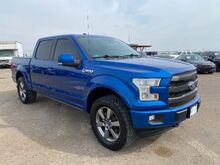 2017_Ford_F-150_Lariat SuperCrew 5.5-ft. Bed 4WD_ Laredo TX