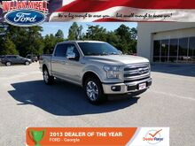 2017_Ford_F-150_Platinum 4WD SuperCrew 5.5' Box_ Augusta GA