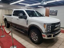 2017_Ford_F-350 SD_LARIAT TURBO DIESEL 8 FT BED WITH NAVIGATION COOLED LEATHER SEATS SKY VIEW_ Charlotte NC