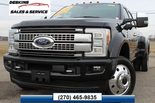 2017 Ford F-450SD Platinum Campbellsville KY