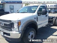 Ford F-550 Chassis Cab XL  -  Trailer Hitch 2017