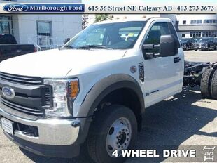 2017 Ford F-550 Chassis Cab XL  -  Trailer Hitch
