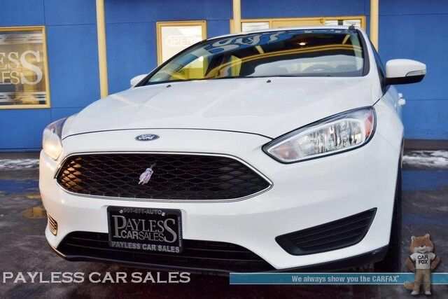 2017 Ford Focus Se Hatchback Automatic Microsoft Sync Bluetooth Back Up Camera
