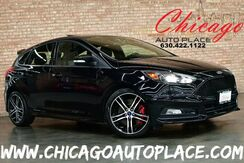 2017_Ford_Focus_ST - 2.0L 4-CYL TURBOCHARGED ENGINE 6-SPEED MANUAL TRANSMISSION FRONT WHEEL DRIVE 1 OWNER BLACK LEATHER/SUEDE RECARO SEATS NAVIGATION BACKUP CAMERA SUNROOF_ Bensenville IL