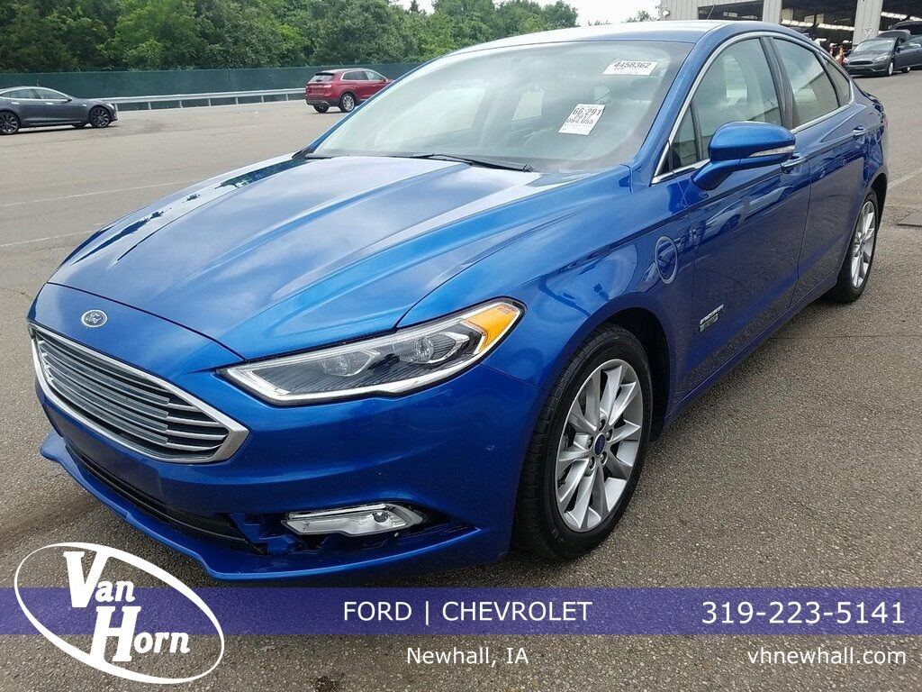 2017 Ford Fusion Energi Se Luxury Plymouth Wi
