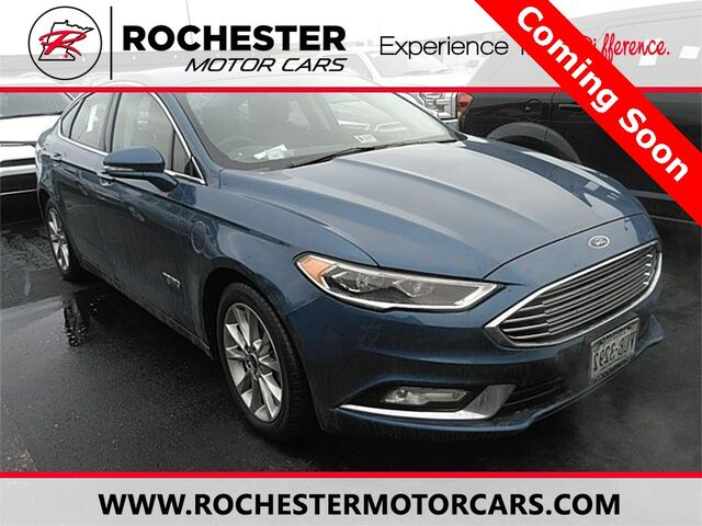 2017 Ford Fusion Energi Se Luxury W Remote Start Heated Seats Rochester Mn