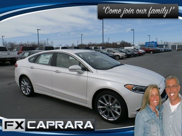 2017 Ford Fusion Platinum Watertown NY