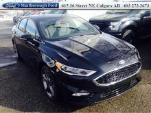 2017_Ford_Fusion_Sport  - Leather Seats -  Bluetooth_ Calgary AB