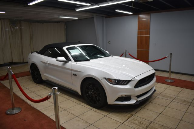 2017 Ford Mustang GT PREMIUM WITH RED ROSSO INTERIOR LEATHER Charlotte NC