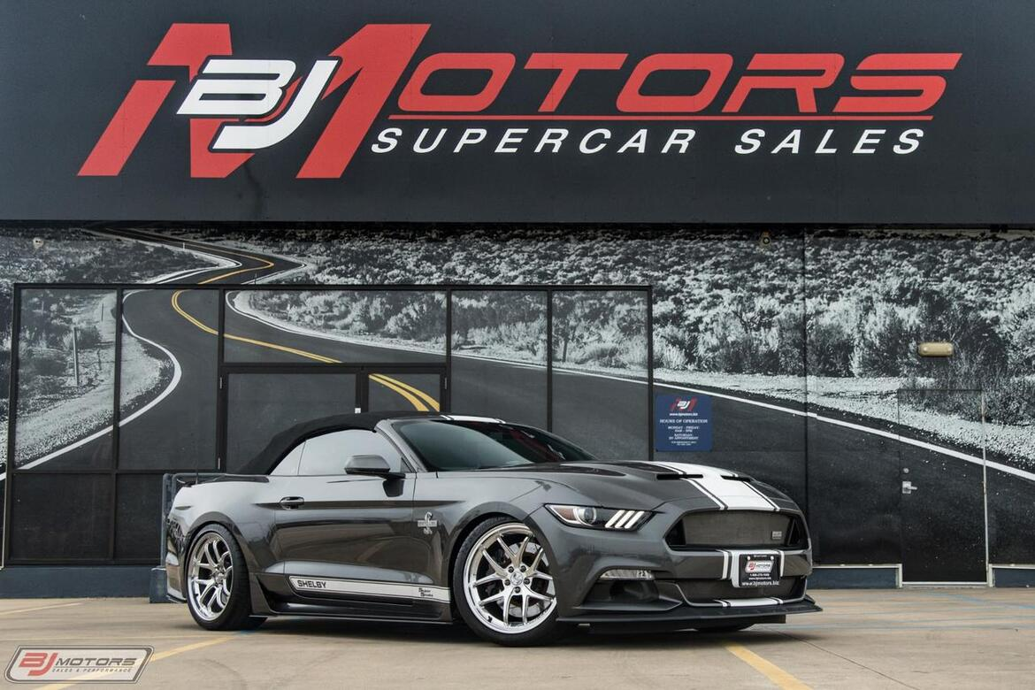 2017 Ford Mustang Shelby Super Snake Tomball TX