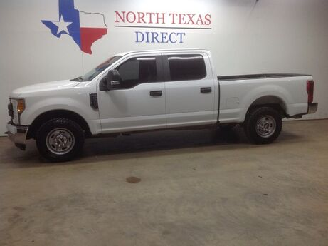 2017 Ford Super Duty F-250 SRW FREE DELIVERY XL Crew Cab Short Bed V8 Keyless Chrome Mansfield TX