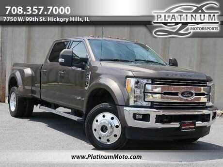 2017 Ford Super Duty F-450 DRW Lariat 2 Owner Leather Nav Goose Neck Ball Ready For Work Hickory Hills IL