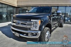 2017_Ford_Super Duty F-450_Lariat / FX4 Pkg / 4X4 / Dually / Turbo Diesel / Auto Start / Heated & Cooled Seats / Navigation / Sony Speakers / Panoramic Sunroof / Lane Departure & Blind Spot Alert / Bed Liner / Tow Pkg / Block Heater_ Anchorage AK