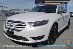 2017_Ford_Taurus_Limited / AWD / Heated & Ventilated Leather Seats / Heated Steering Wheel / Navigation / Sunroof / Sony Speakers / Auto Start / Microsoft SyncBluetooth / Back Up Camera / Blind Spot Alert / Only 7k Miles / 1-Owner_ Anchorage AK