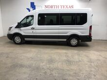 2017_Ford_Transit Wagon_FREE DELIVERY XL 13 Passenger Van 3.5 EcoBoost Keyless Bluetooth Rear AC_ Mansfield TX