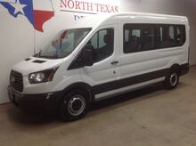 2017_Ford_Transit Wagon_FREE DELIVERY XLT 15 Passenger Van 3.7 V6 Keyless Bluetooth Rear AC_ Mansfield TX