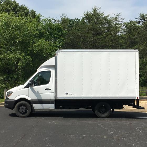 2017 Freightliner Cab Chassis with Box 3500X Annapolis MD